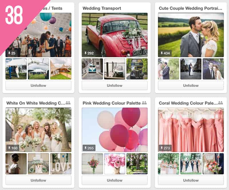 38 Rock My Wedding Pinterest Accounts to Follow for Wedding Inspiration