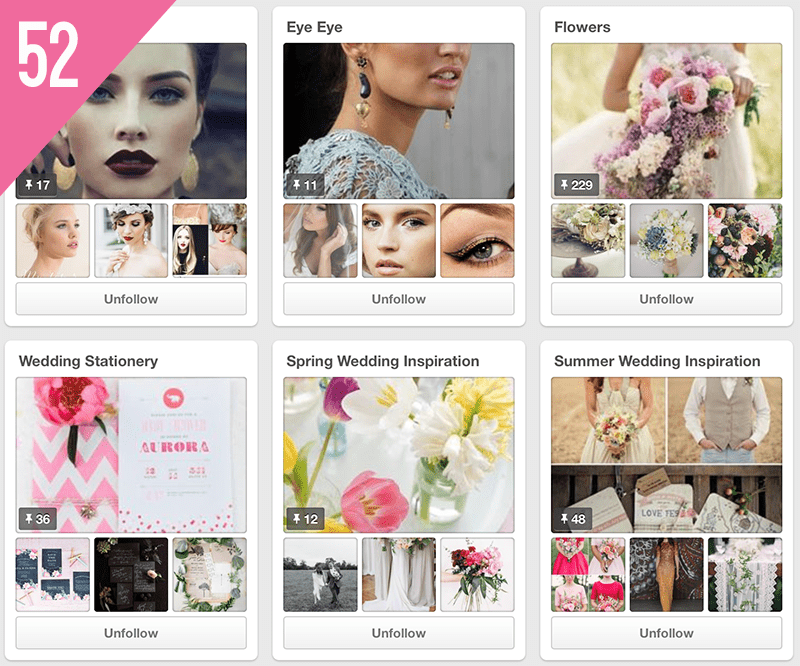 52 So You're Getting Married Wedding Pinterest Accounts To Follow