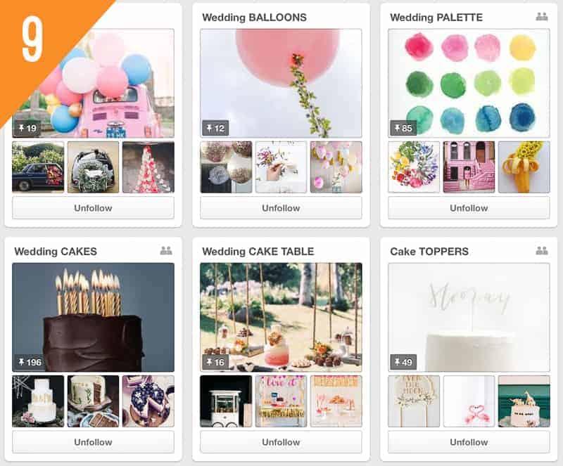 9 BASH Magazine Wedding Pinterest Accounts to Follow for Inspiration