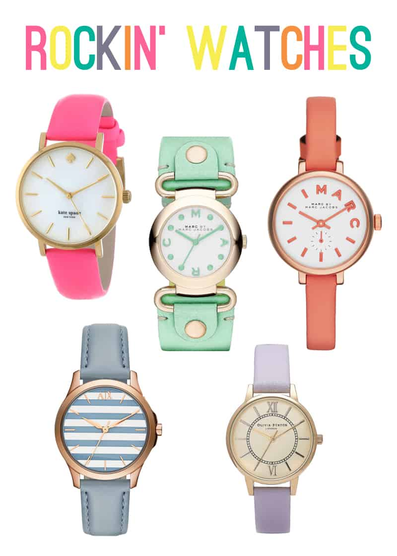 Colourful Bright Bold Watches 1