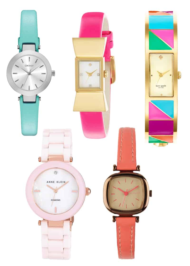 Colourful Bright Bold Watches 2