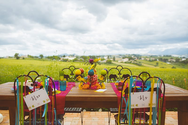 Festival Inspired Gypsy Mexican Fiesta Wedding Isnpiration 4