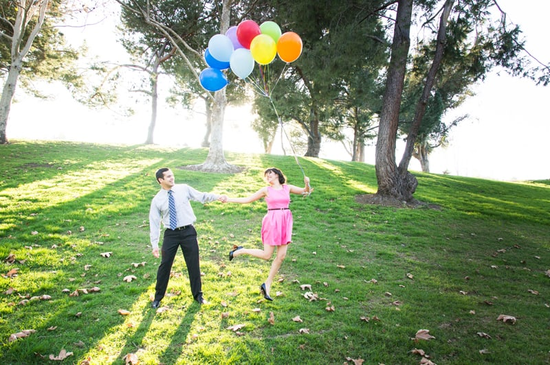 Up Themed Engagement Shoot 18