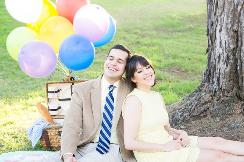 Up Themed Engagement Shoot 21