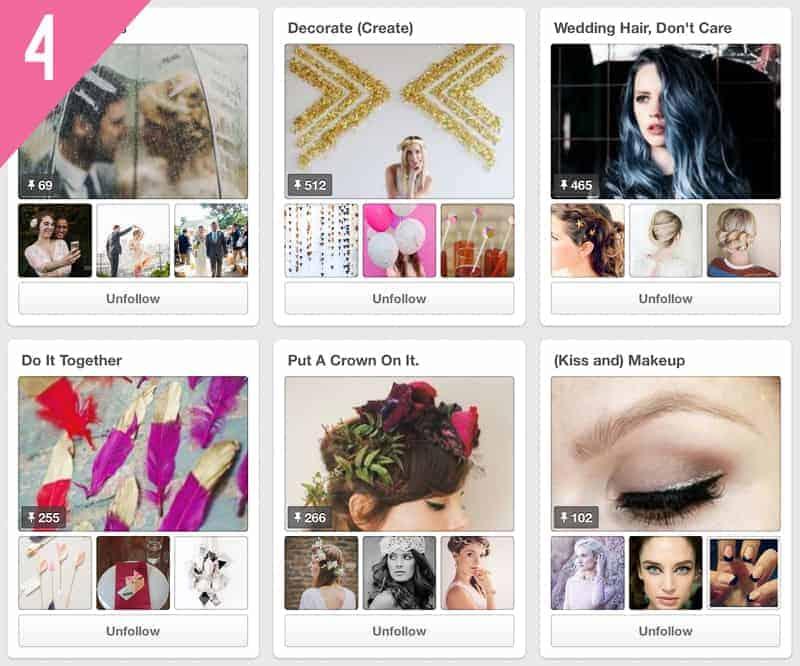 Wedding Pinterest Accounts to Follow A Practical Wedding_