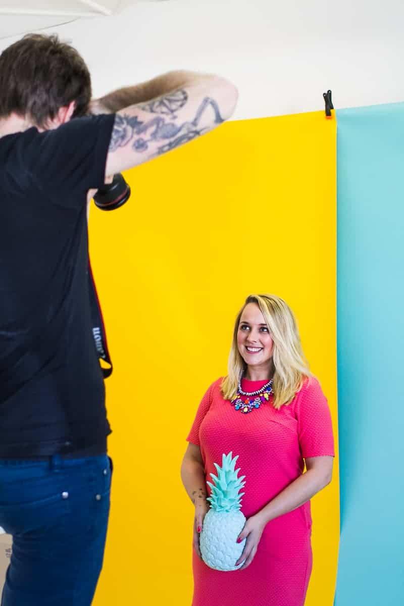 Behind The Scenes Bespoke Bride Media Kit Shoot Craig Dearsley-3