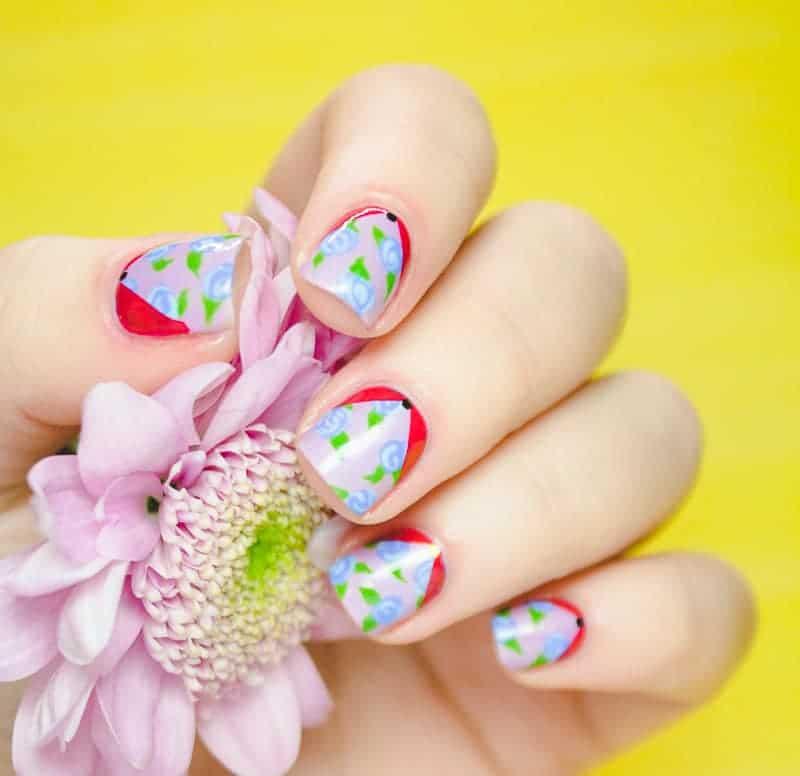 Floral Nail Art Tutorial Main Pic