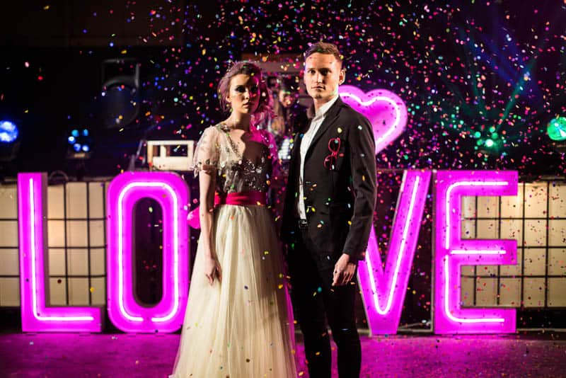 NEON WEDDING RAVE IN MANCHESTER INDUSTRIAL WAREHOUSE (19)