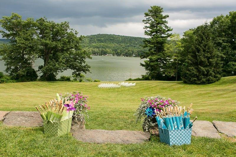 Pinwheel Themed Wedding with Colourful Sunflowers Backyard Inspiration-12