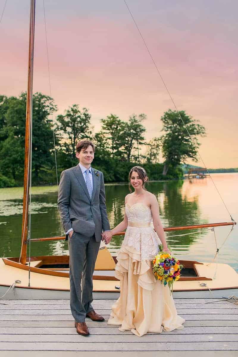 Pinwheel Themed Wedding with Colourful Sunflowers Backyard Inspiration-27