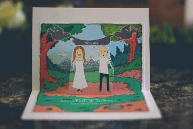 TRAVEL INSPIRED WOODLAND WEDDING (1)