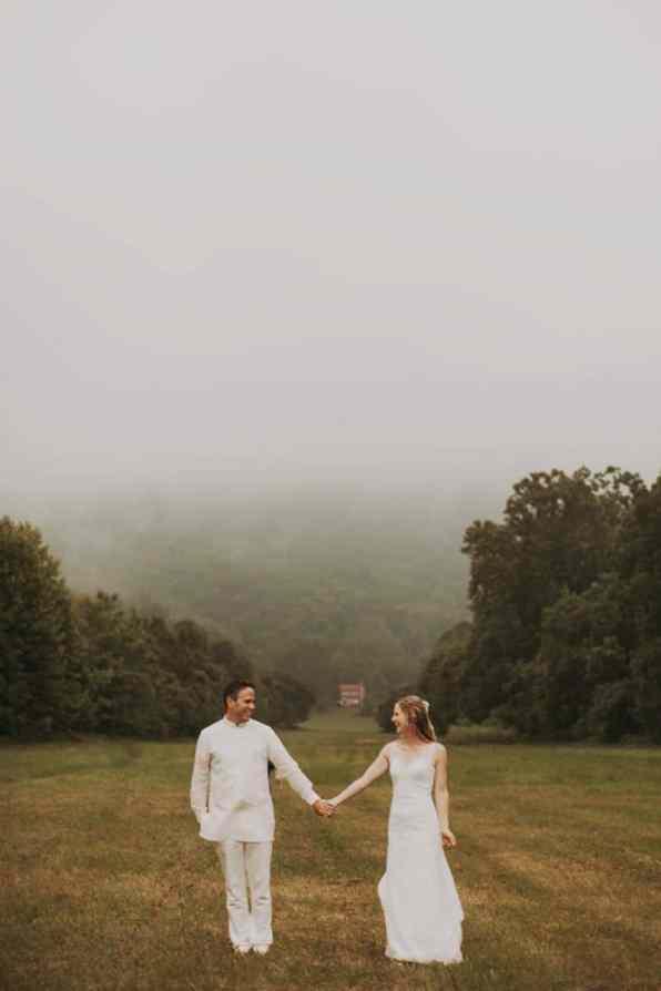 A BRIGHT & BEAUTIFUL TECHNICOLOUR WEDDING IN THE RAIN! (27)