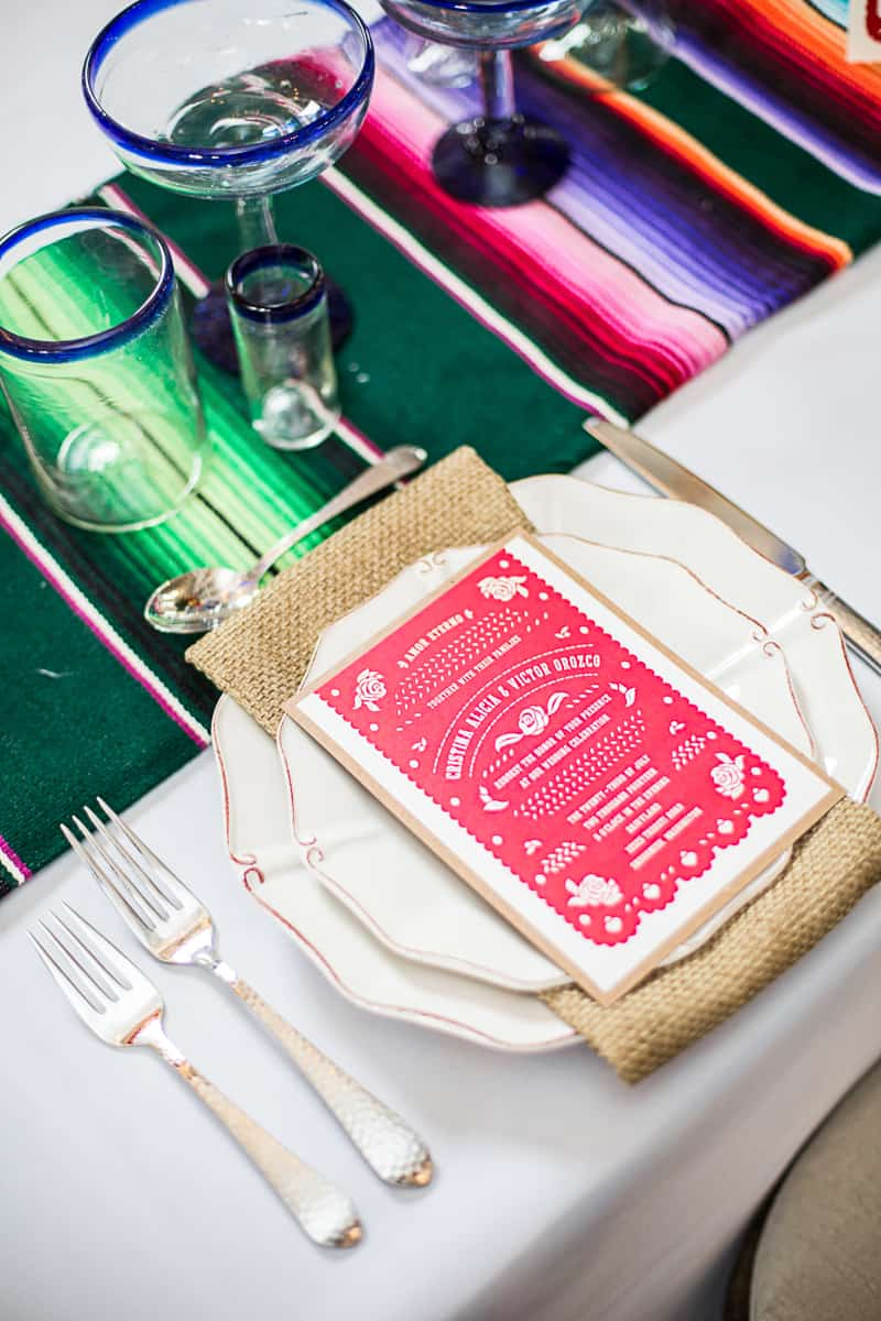 How to style a mexican themed table wedding inspiration 15