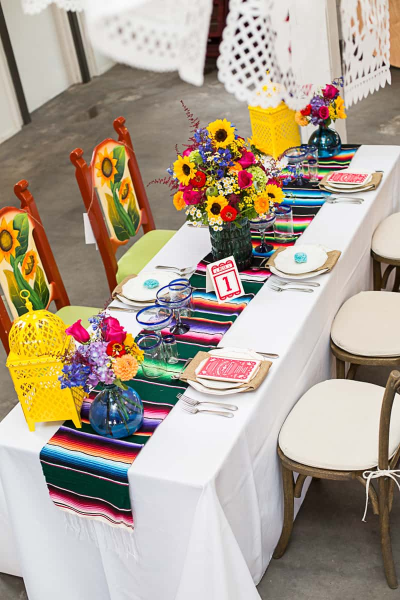 How to style a mexican themed table wedding inspiration 5