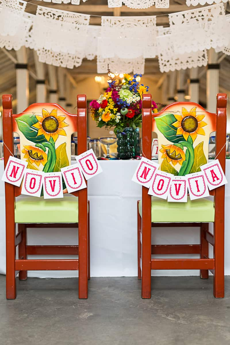 How to style a mexican themed table wedding inspiration 6