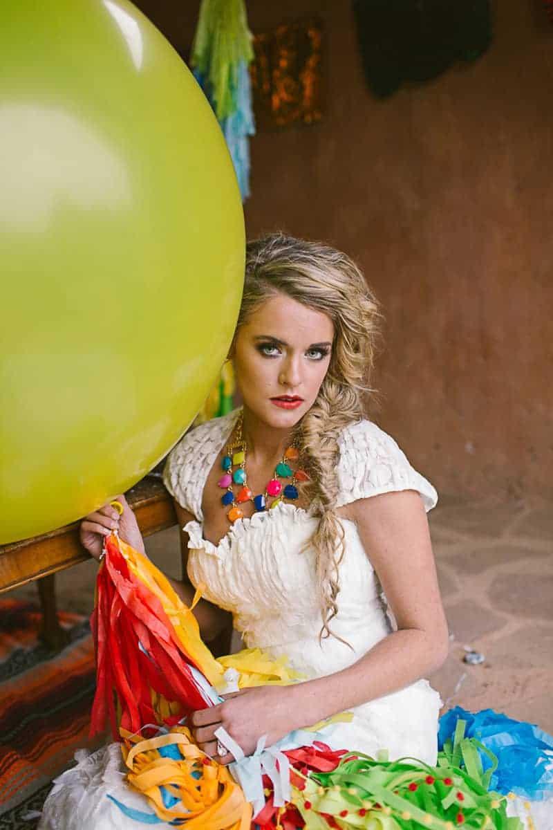 Mexican Fiesta Wedding Inspiration Giant Balloons Cinco De Mayo Dia De Los Muertos_-21