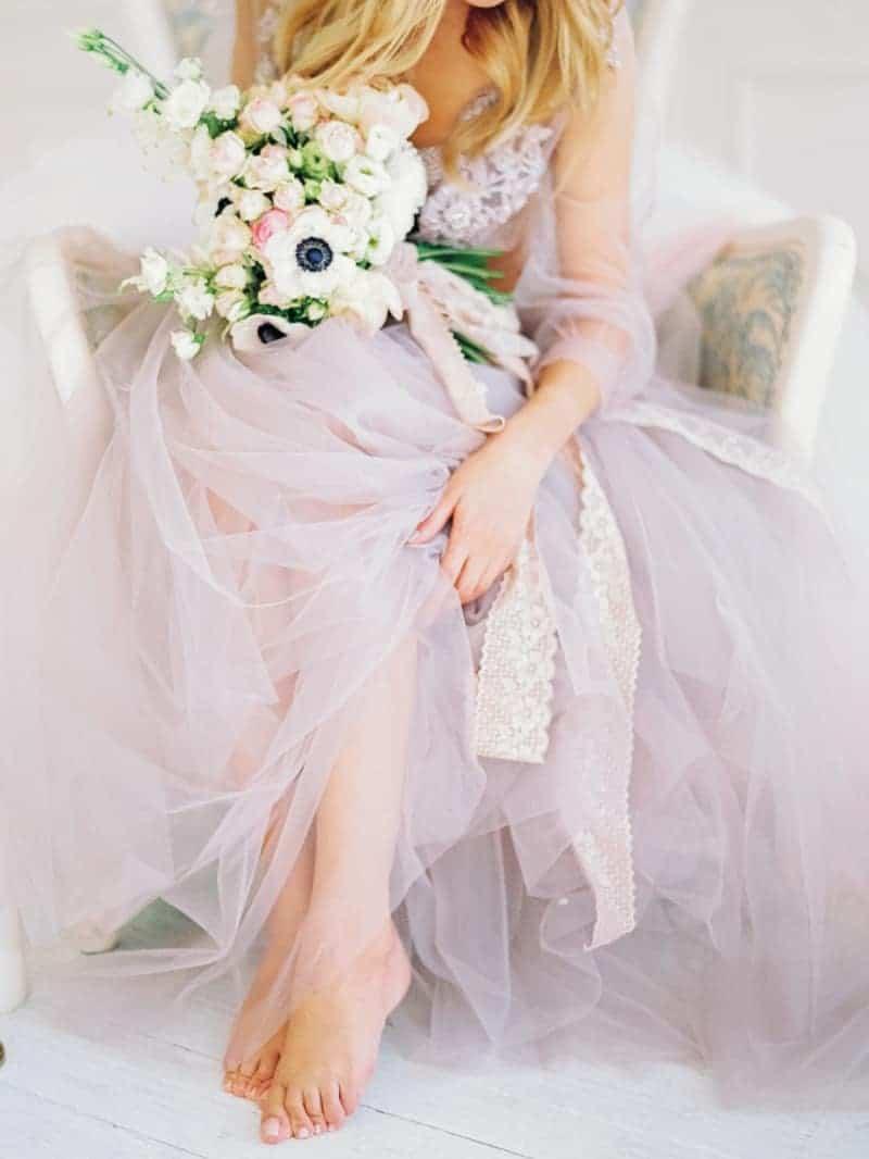 Soft Romantic Boudoir Shoot Session Bespoke Bride 26