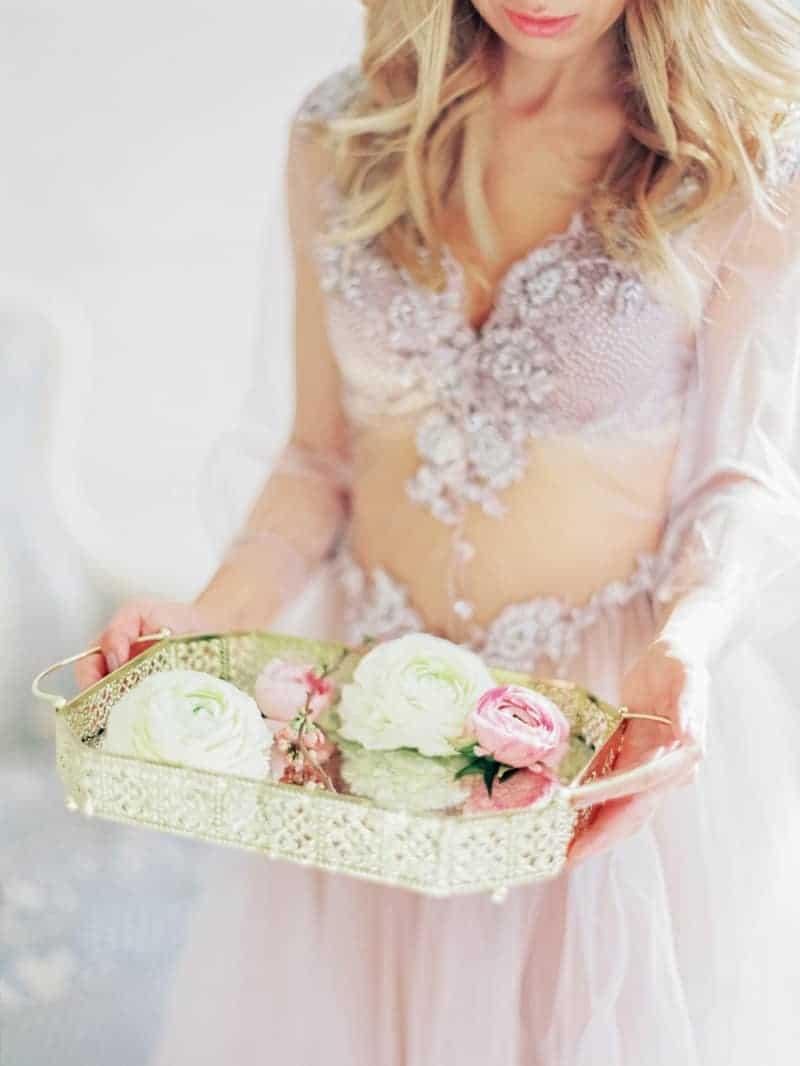 Soft Romantic Boudoir Shoot Session Bespoke Bride 8