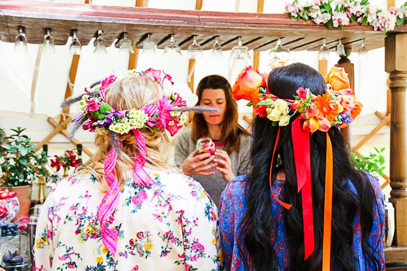 Behind the scenes Free People Festival Wedding Inspiration with Bespoke Bride-15
