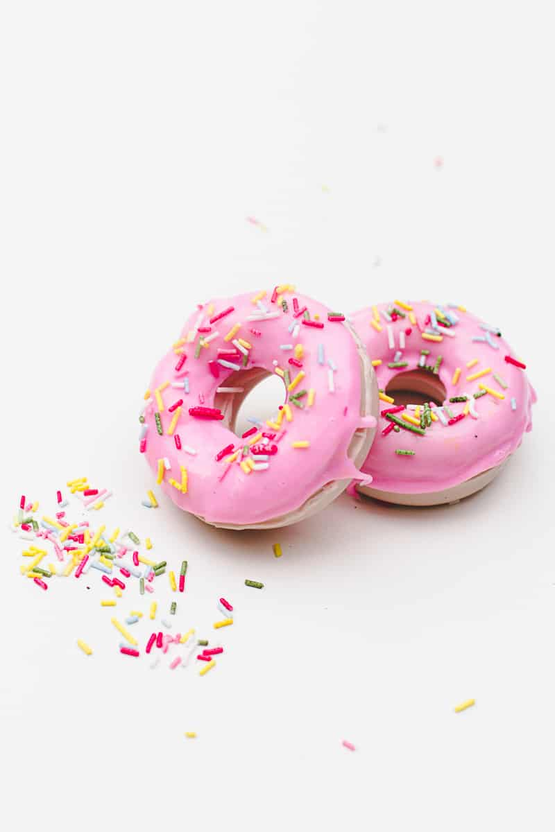 DIY Donut Soap Favours Sprinkles Doughnut Melt and pour-7