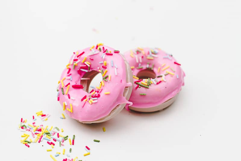 DIY Donut Soap Favours Sprinkles Doughnut Melt and pour-8