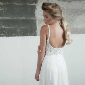 Festival Boho Wedding Dress Motil Fine Design