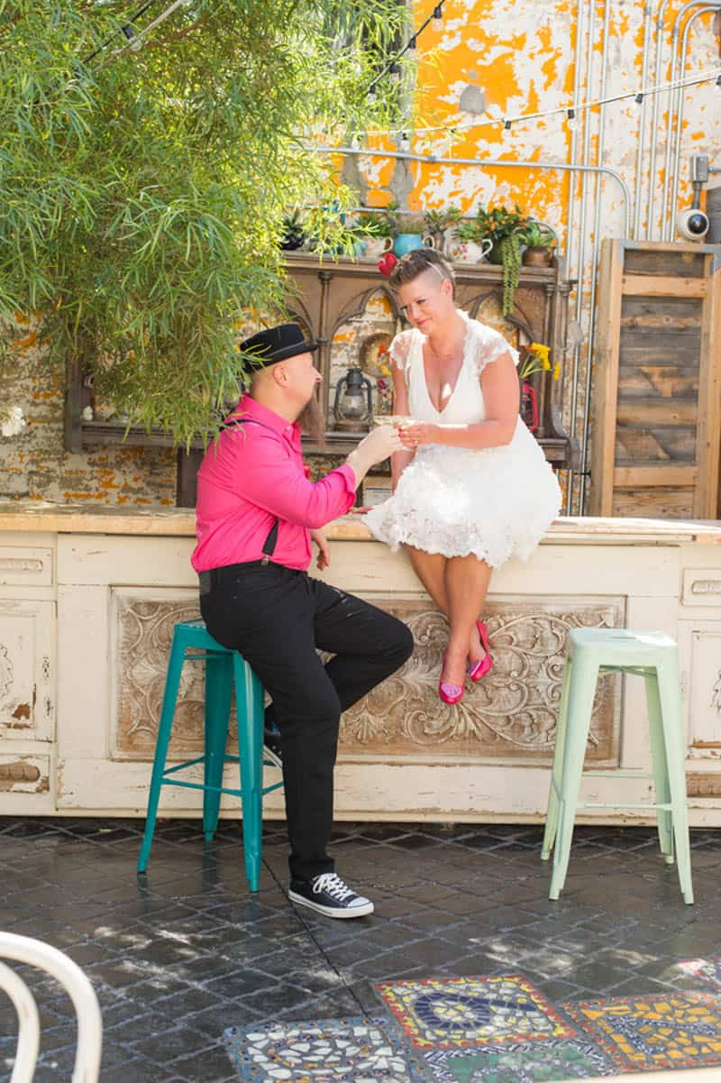 PINK TO MAKE THE BOYS WINK! AN ECLECTIC LAS VEGAS ELOPEMENT (17)
