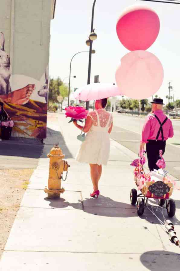 PINK TO MAKE THE BOYS WINK! AN ECLECTIC LAS VEGAS ELOPEMENT (23)