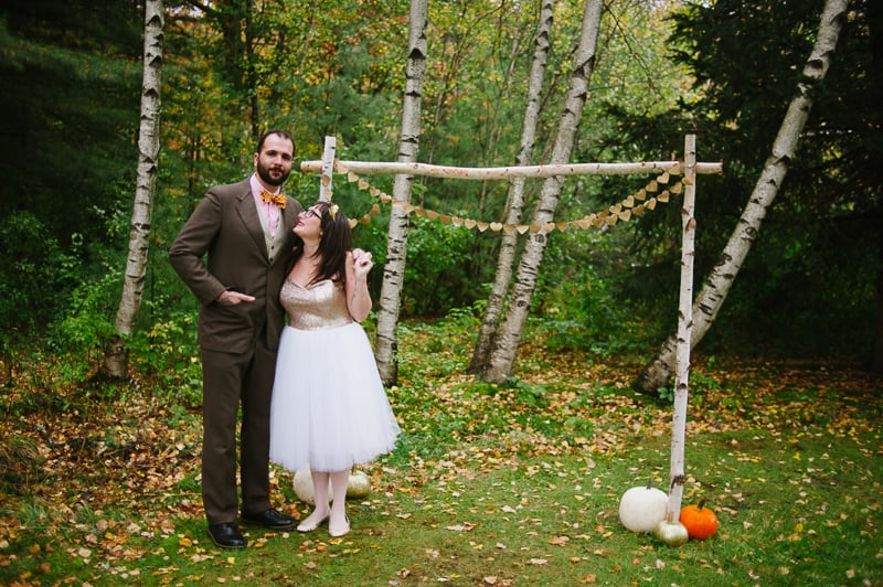 A FUN & QUIRKY FALL VEGAN WEDDING WITH A TACO TRUCK AND PUMPKIN DECORATIONS! (2)