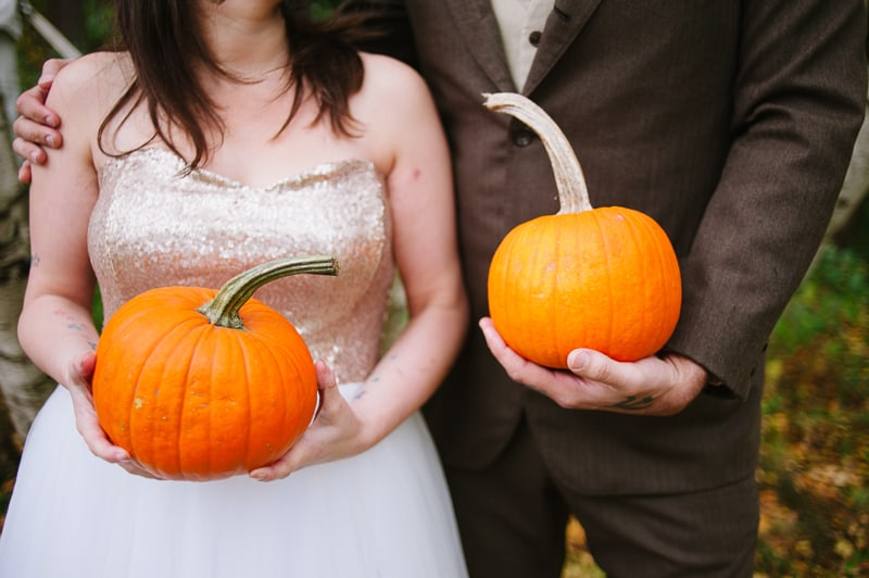 A FUN & QUIRKY FALL VEGAN WEDDING WITH A TACO TRUCK AND PUMPKIN DECORATIONS! (4)