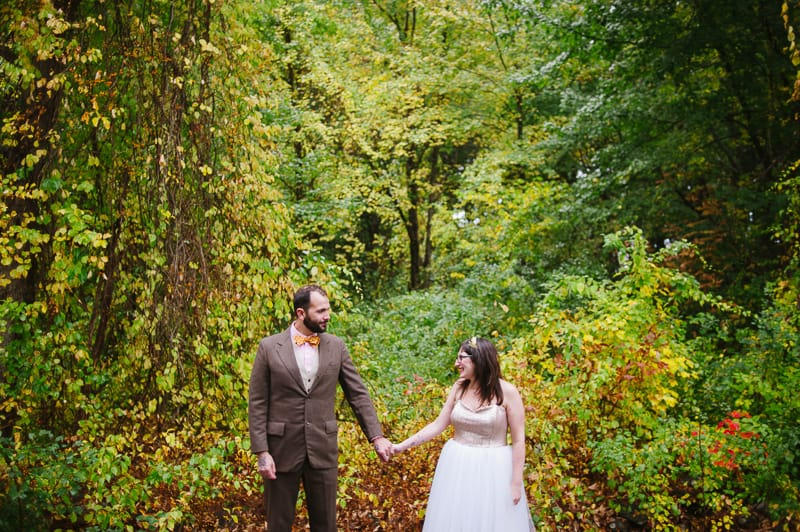 A FUN & QUIRKY FALL VEGAN WEDDING WITH A TACO TRUCK AND PUMPKIN DECORATIONS! (7)