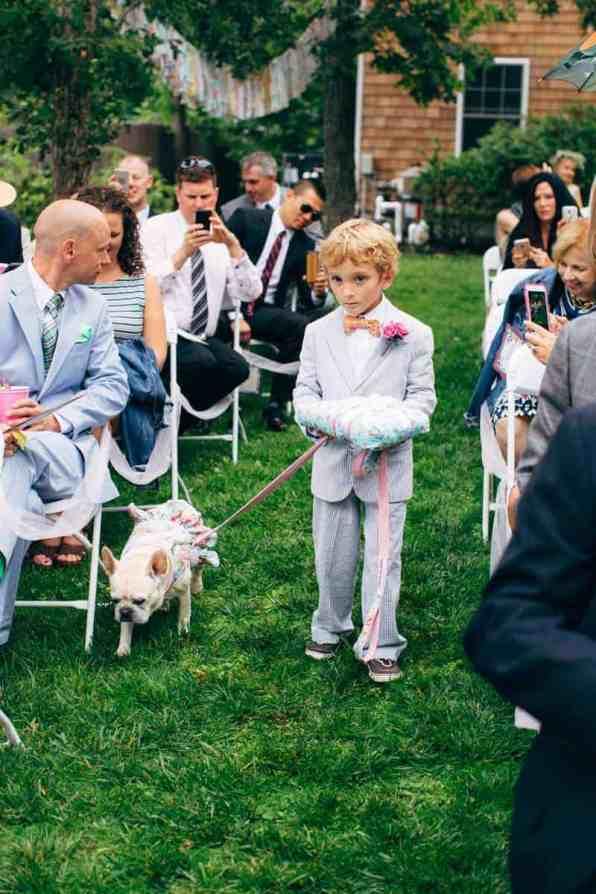 Backyard Flamino themed DIY Wedding in South Hampton USA (15)