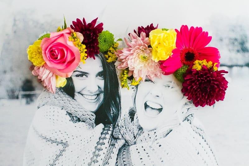 DIY 3D flower Photography Art Photo tutorial wedding decor fresh flowers for everyone-4