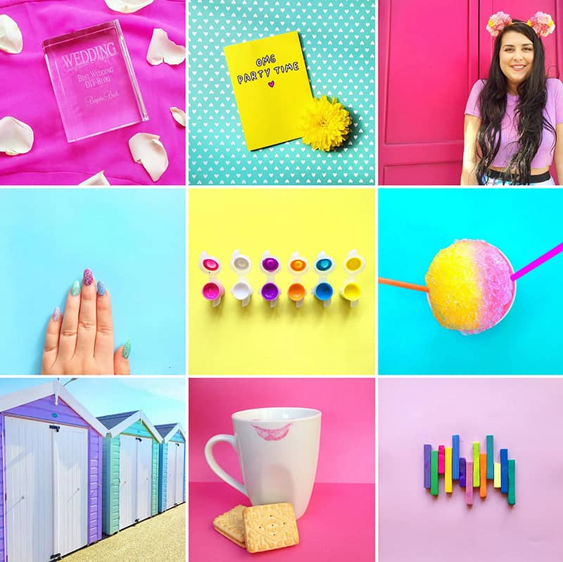 Bespoke Bride Instagram Colourful colorful instagram accounts