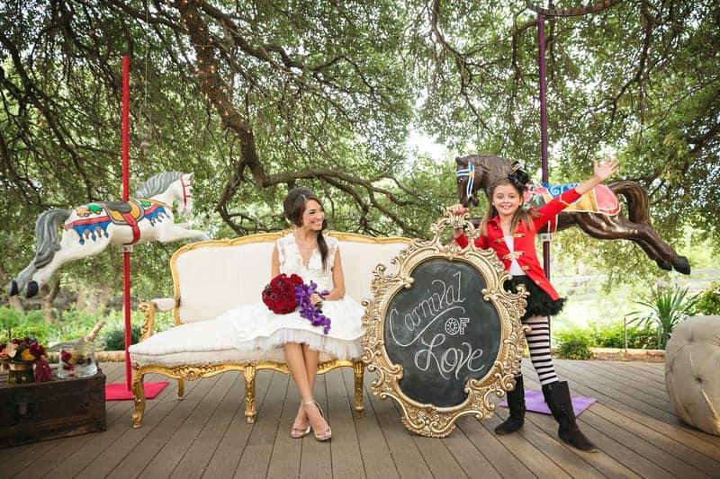 Circus Carnival Wedding Inspiration Theme 24