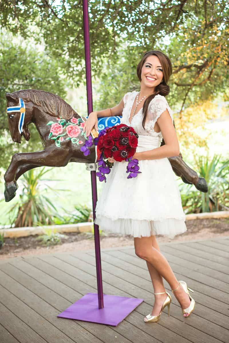 Circus Carnival Wedding Inspiration Theme 28