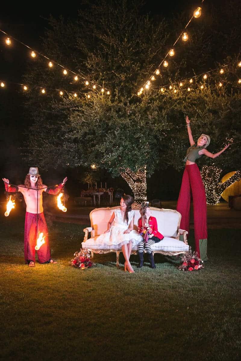 Circus Carnival Wedding Inspiration Theme 34