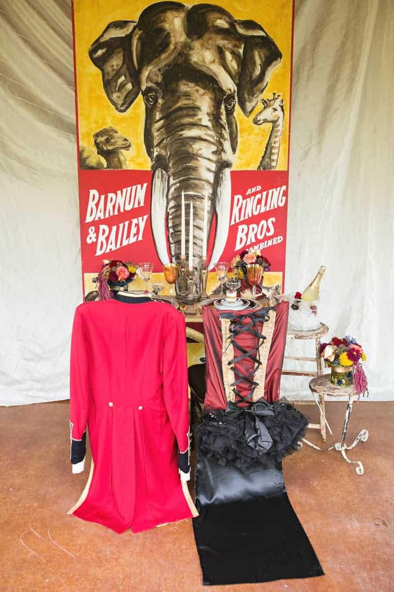 Circus Carnival Wedding Inspiration Theme 6