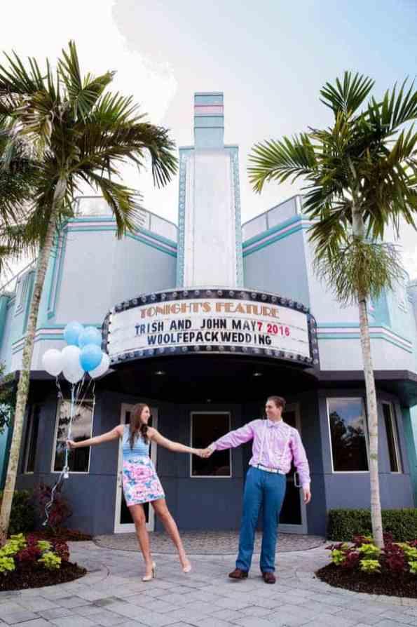Ice Cream Parlour Engagement Florida (3)