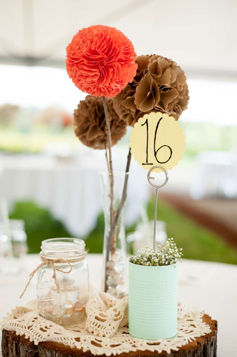 Retro campervan hippie wedding with chevrons & succulents-14