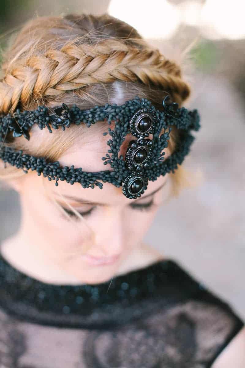 Wedding in Black for Halloween (6)