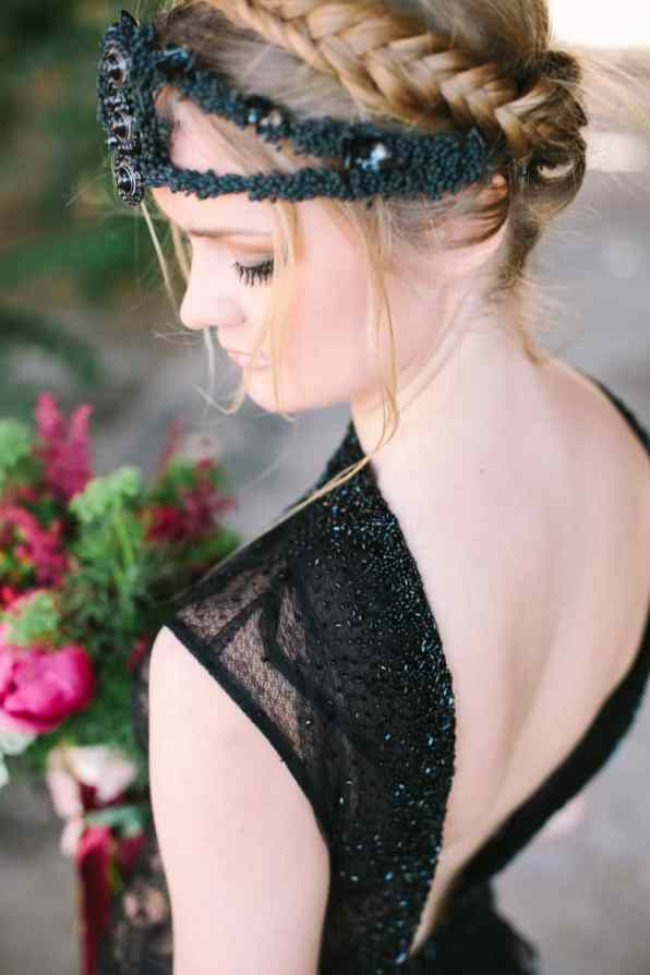 Wedding in Black for Halloween (7)