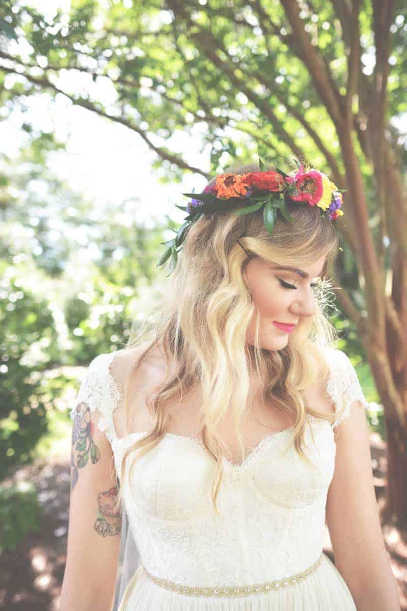 A SWEET BOHEMIAN WEDDING (13)