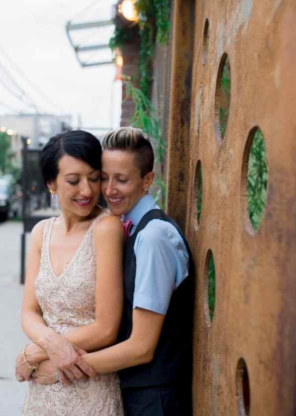 Modern Vintage DIY Wedding in Brooklyn (22)