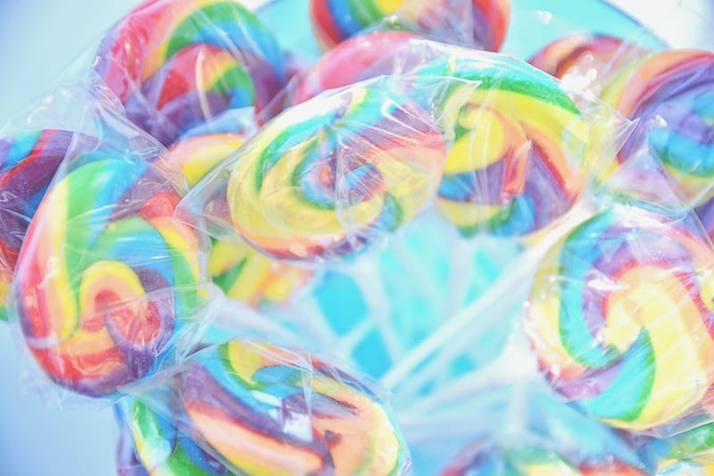 Carnival themed wedding backyard colourful sweet stand candy popcorn-20