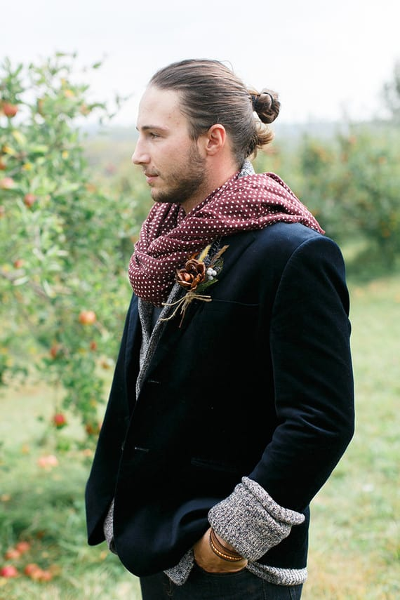 Formal Man Bun 1