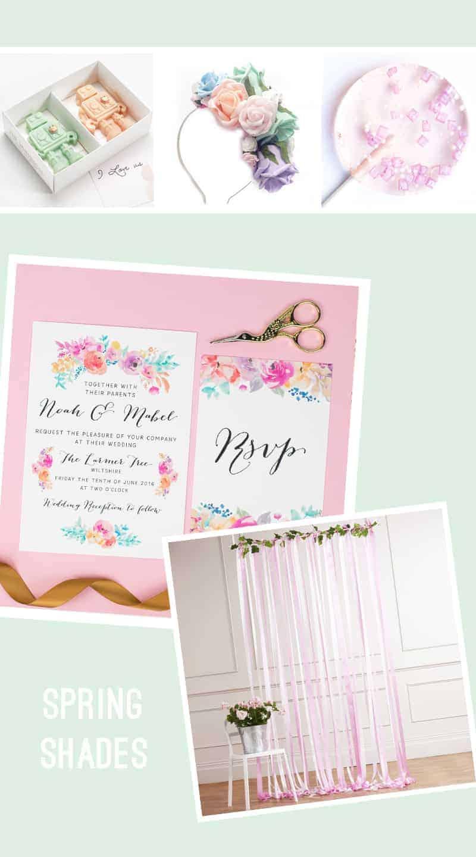 Pastel Wedding Inspiration 2