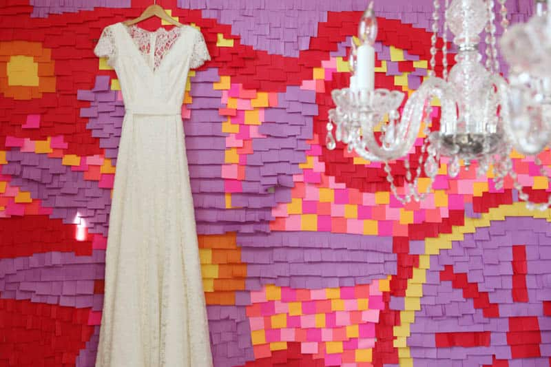 CREATIVE AND COLOURFUL STYLED WEDDING WITH PAPER FLOWERS AND PAPER BACKDROP (26)