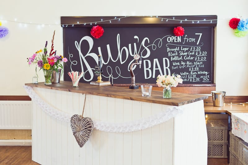 THIS CUTE DIY WEDDING IN A VILLAGE HALL IS EVERY CRAFTER'S DREAM! (20)