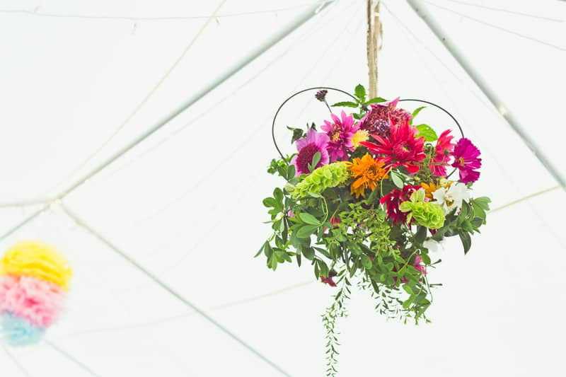 THIS CUTE DIY WEDDING IN A VILLAGE HALL IS EVERY CRAFTER'S DREAM! (23)